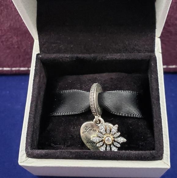 Pandora Jewelry - Pandora Two-Tone Snowflake  Heart Charm